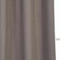 Exclusive Fabrics Cotenza Steel Grey Faux Cotton Curtain Panel