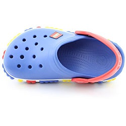 Crocs Boy's Crocband Kids Lego Clog Blue Casual Shoes