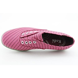 Keds Women's Champion Laceless Candy Stripe Pink Casual Shoes