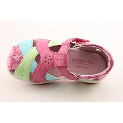 Stride Rite Girl's SRT Tulip Pink Sandals