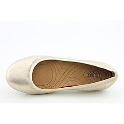 Indigo By Clarks Women's Plush Dot Gold Casual Shoes