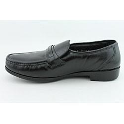Bostonian Men's Prescott Black Dress Shoes Wide