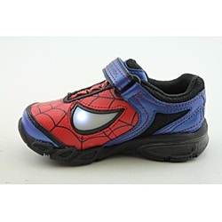 Stride Rite Boy's Baby Spider-Man Lighted Red Casual Shoes