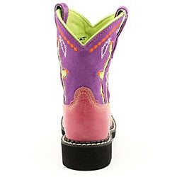 Ariat Girl's Fatbaby Cactus Pink Boots