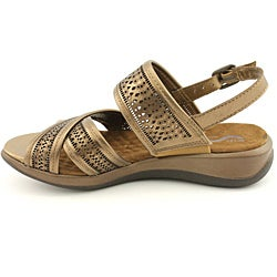 Softwalk Women's Tribes Bronze Sandals