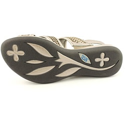 Softwalk Women's Tribes Silver Sandals