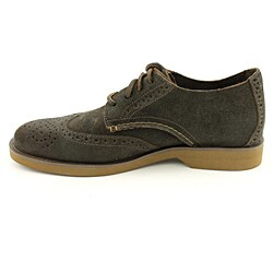Sperry Top Sider Men's Boat Oxford Wingtip Brown - Dark Casual Shoes