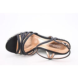 BCBGeneration Women's Hosanna Black Sandals