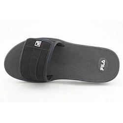 Fila Men's Rogue Velcro Black Sandals