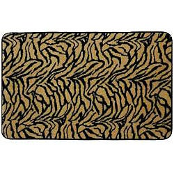Animal Print Memory Foam 17x24 inch Bath Mats (Set of 2)