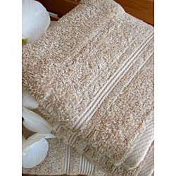 Charisma Linen Beige Premium Hygro Cotton 12-piece Bath Towel Set