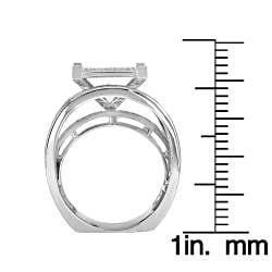 14k White Gold 1 1/3ct TDW White Diamond Ring (G-H, I1-I2)