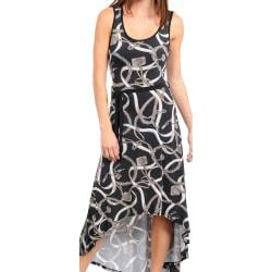 Stanzino Women's Abstract Hi-lo Tank Dress