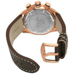 Swiss Precimax Men's Executive Elite Leather Watch