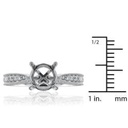 14kt White Gold 0.50ct TDW Diamond Engagement Ring