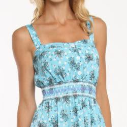 247 Frenzy Junior's Ribbon and Hearts Printed Dress