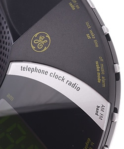 GE 900MHz Cordless Phone w/CID Clock Radio