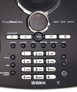Uniden PowerMax 5.8GHz Dual Handset Cordless Phone (Refurbished)