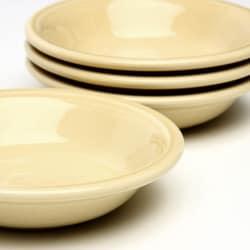 Fiesta Fruit Bowls in Ivory (Set of 4)