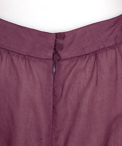 Parameter Voile Plum Skirt