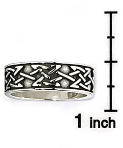 Jewelry Trends Celtic Knot Sterling Silver Ring