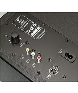 Logitech Z540 40-watt 5-Piece 4.1 Speaker Set