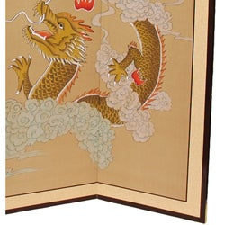 Large Dragons Playing Silkscreen (China)