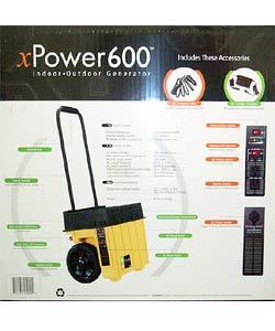 xPower 600 Indoor/Outdoor Generator
