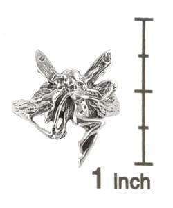 Tressa Sterling Silver Fairy Ring