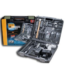 Fixit 69-piece 18V Cordless Drill Set (case of 2)