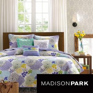 Madison Park Jessica 6-piece Cotton Coverlet Set