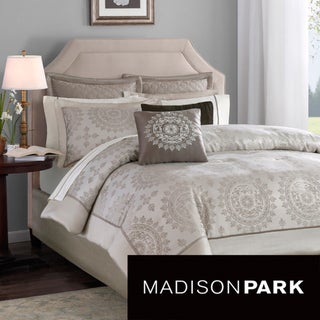 Madison Park Sausalito 12-piece Bed in a Bag with Sheet Set