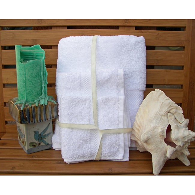 Grandeur Cotton 12-piece Bath Towel Set