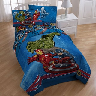 Marvel Comics Avengers Full-size Bed in a Bag with Sheet Set