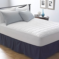 Antimicrobial 305 Thread Count Mattress Pad
