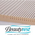 Beautyrest GeoMatt Therapeutic Foam Mattress Pad