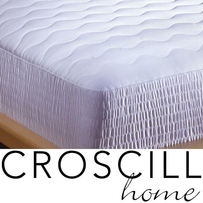 Croscill 400 Thread Count Pima Cotton Mattress Pad