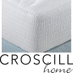 Croscill Cotton Sateen 300 Thread Count Mattress Pad