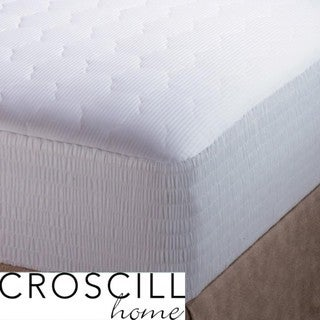 Croscill Pima Cotton 310 Thread Count Twin/ Full-size Mattress Pad