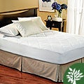 Eco Friendly 300 Thread Count Plush Mattress Pad