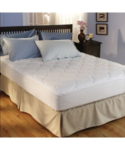 Hotel 500 Thread Count Egyptian Cotton Plush Mattress Pad