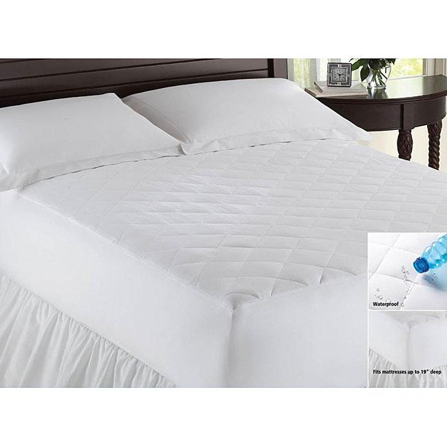 Microfiber Waterproof Mattress Pad
