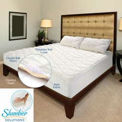 Slumber Solutions Regency 4-layer 2-inch Full-size Mattress Topper