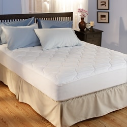 Woven Dobby 350 Thread Count Twin-size Mattress Pad