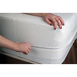 Organic Cotton Waterproof Queen-size Bed Bug Encasement Cover