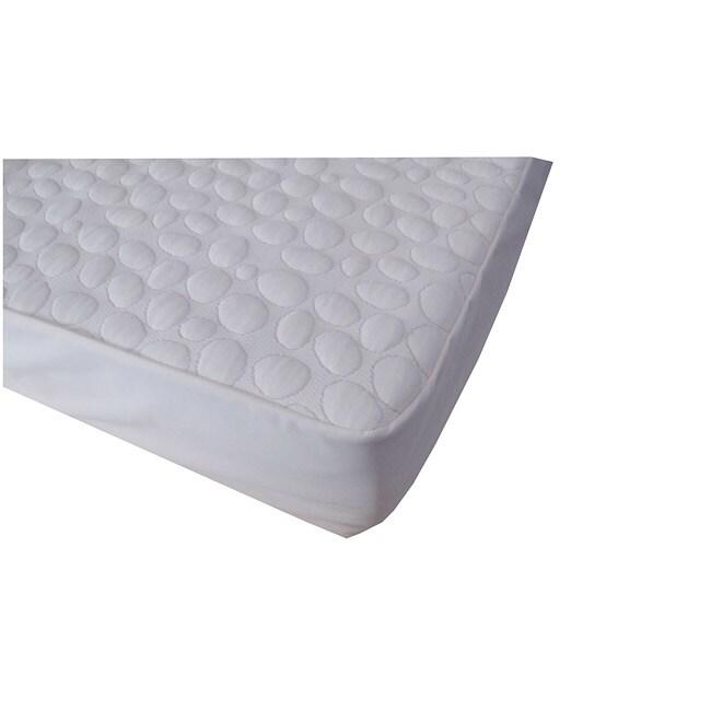 PebbleTex Waterproof Organic Cotton Queen-size Bed Bug Encasement Cover