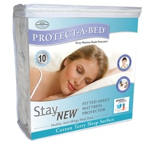 Protect-A-Bed Stay New Mattress Protector