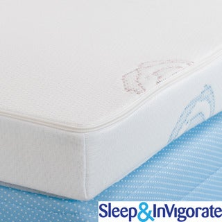 Sleep & Invigorate Latex and Memory Foam 2-in-1 3-inch Mattress Topper