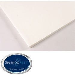 Splendorest 1-inch Memory Foam Mattress Topper