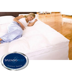 Splendorest Perfect Harmony Twin/ Full-size Down Alternative and Memory Foam Mattress Topper